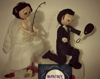 Fofuchos bride and groom