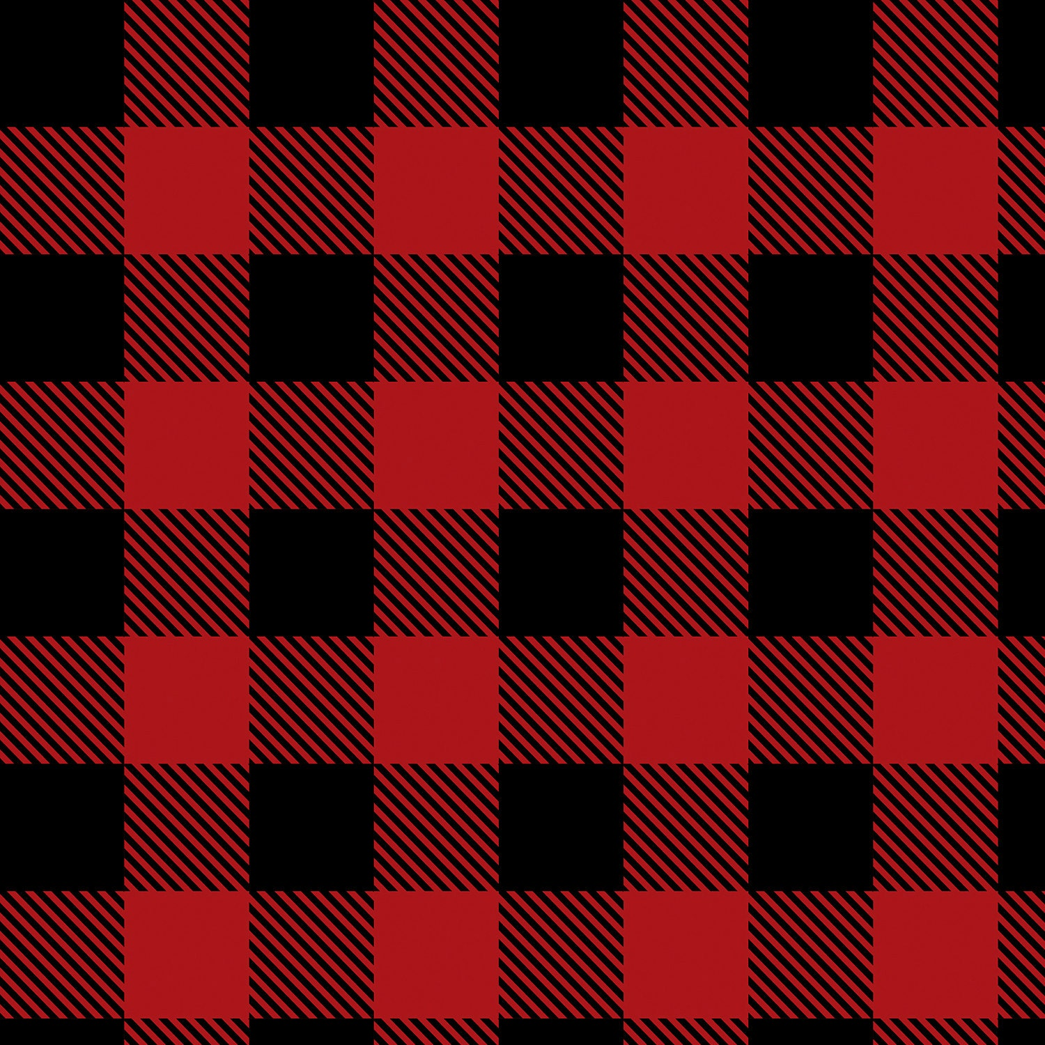 Red Buffalo Plaid Flannel From Camelot Fabrics Cotton
