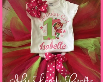 Strawberry Shortcake Tutu Set