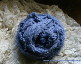 Old Glory Blue- Baby Cheesecloth Wrap- Photography Prop