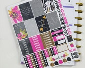 M039 // Glam Inspirational Weekly Kit - Happy Planner