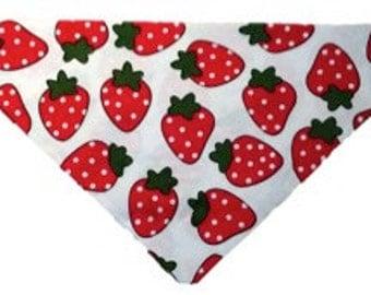 Strawberry bandanna