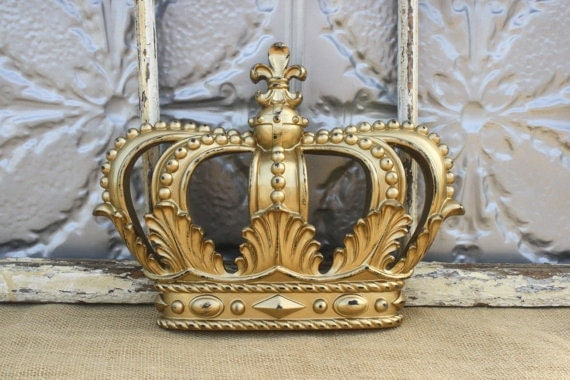 Crown Decoration For Wall : Items similar to crown decor wall princess