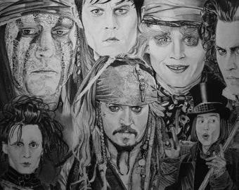 Johnny Depp universes