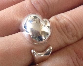 Excellent Authentic Super Rare Tiffany & Co. Elsa Peretti Snail Ring Size 5.25