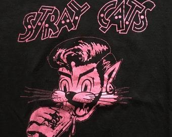Stray Cats 1982 Tour Tshirt