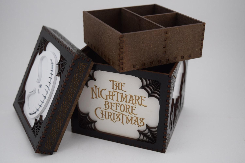Nightmare Before Christmas Jewelry Box