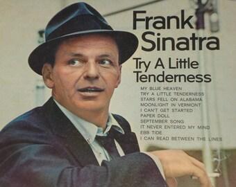 Frank Sinatra vinyl record album, Try A Little Tenderness vintage vinyl record