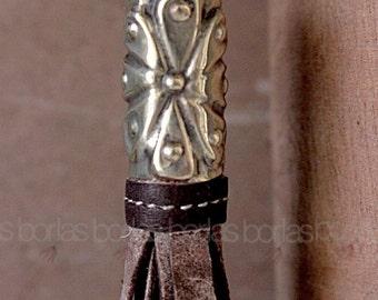 Hand made leather Tassel-Borla