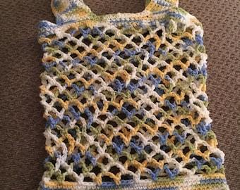 Crochet mesh beach/market bag
