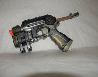 SALE** Retro Steampunk Custom Painted Nerf Gun EX-3 Nite Finder N-Strike Pistol Cosplay Gun