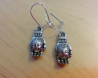 Hands of Buddha earrings