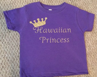 Hawaiian Princess tshirt