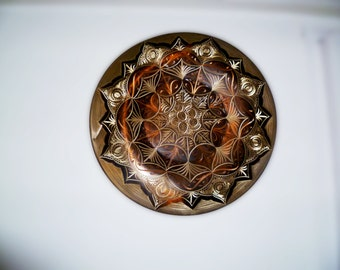 Handmade copper plate