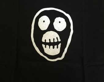 The Mighty Boosh Mask Logo Iron On Sew On