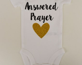 Answered Prayer Onesie