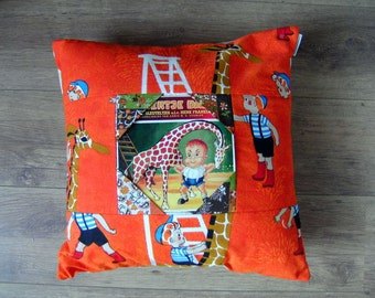 Pillow cover  cushion cover Dikkertje Dap from Annie M.G. Schmidt