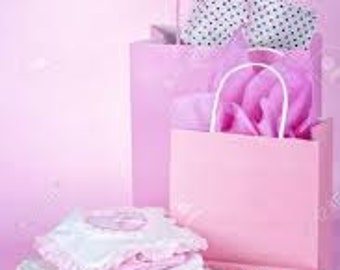 Small Babyshower Gift or Reborn Giftbag opening