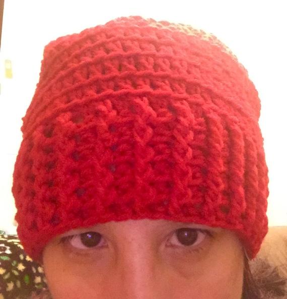 Over-sized Crochet Hat