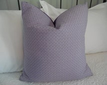 Purple Quatrefoil pattern pillow cover. Purple. Pillow cover for Tween/Teens. bedroom pillow cover. Product ID# P0088