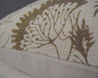 18 x 18 Beautiful SOFT Monk Slub Cotton Pillow Cover. Off white. Taupe.Gold.Soft Monk.Pillow Cover.Slip Cover.Home Decor.soft Pillow Cover.