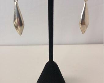 Sterling stud earring