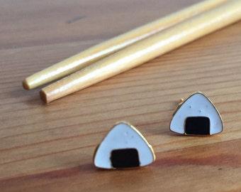 Earrings sushi rice