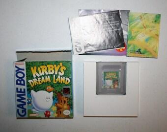 kirby dream land gameboy W/ Box