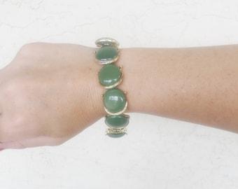 Olive Gold Bracelet