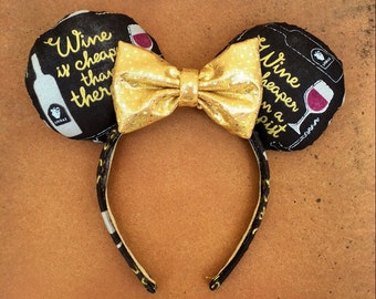 Epcot's Food and Wine Festival Minnie Mouse Ears