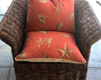 Unique Rustic Vintage Wood Bent Twig Handmade and Woven Chair