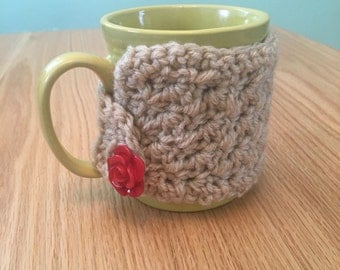 Mug Cozy, Cup Cozy, Crocheted Cozy
