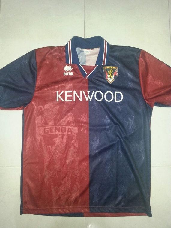 Vintage 1994-1995 Genoa football jersey ZS5wue3twB