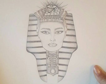 Egyptian Princess Sketch