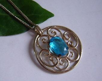 Original old upper Steiner jewelry - necklace-