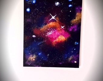 Small Nebula Painting