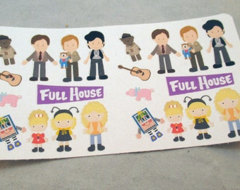 Full House Stickers