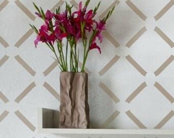 Wall Stencil Geometric 016 Rhombus