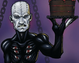 Hellraiser Birthday Card