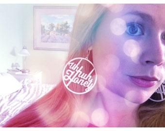 Uh Huh Honey Hoop Earrings