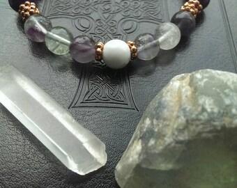Reiki Infused Chakra Bracelet and Stone Set - Manifest