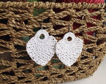 2.5 inch Pineapple Earring Design - Instant download - Crochet PATTERN (pdf file) – Jewelry - Crochet Earing Design #6/101 Pattern