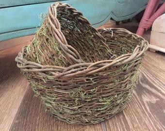 Moss & Twig Basket Set