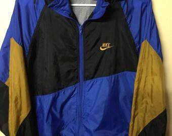1980's Nike Windbreaker Size XL