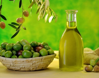 FREE SHIPPING Greek Olive Oil, 5 liters / 170 oz, Organic Extra Virgin Olive Oil, Homegrown Unfiltered Premium Olive Oil, Authentic Greek