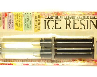 Ice resin resin syringe 2 components