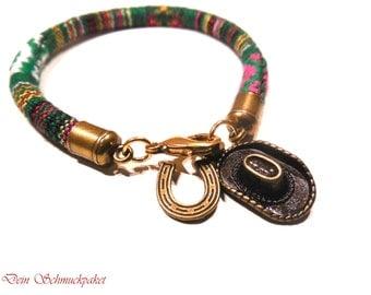 Sailing rope bracelet ~ retro cowboy ~.