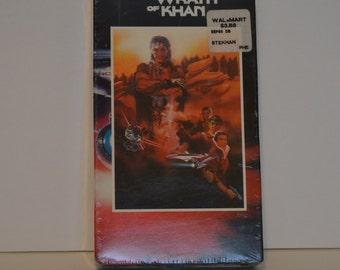 Vintage Sealed Star Trek II The Wrath Of Khan VHS