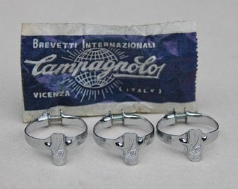 Set of 3 necklaces CAMPAGNOLO bike race vintage sheath new in package