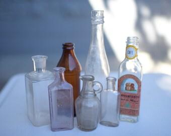 Lot of Vintage Bottles